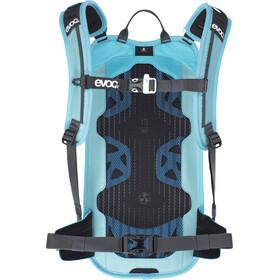 EVOC Stage Mochila Technical Performance 6l + Bolsa Hidratación 2l, aque blue/neon blue